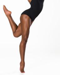 African American Dancers Legs