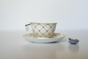China Tea Cup and spoon