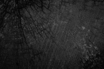 Black wood textured close up background, Concept wood textured.