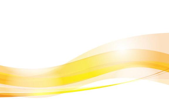 yellow wave vector design Background