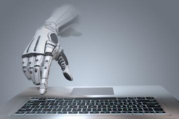 Robot arm futuristic design