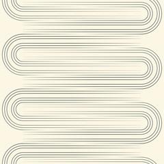 Seamless Line Wallpaper. Minimal Modern Graphic Design