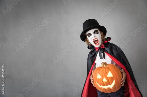 Halloween Pumpkin Autumn Holiday Concept