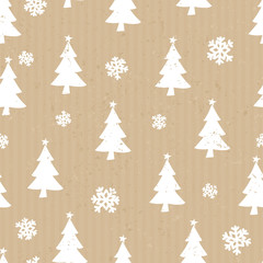Craft Paper Christmas Pattern