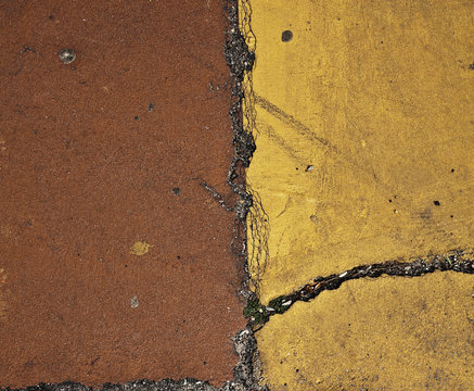 Texture Background Stone Ground Flat Rough Dirty Grunge Yellow Brown Earth Natute Sun Lines Strokes Organic Sprinkler Rip Close Up Graffiti_by_Typo-Graphic-Design