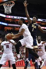 NCAA Basketball: Pittsburgh at Louisville