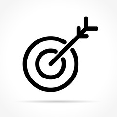 target icon on white background