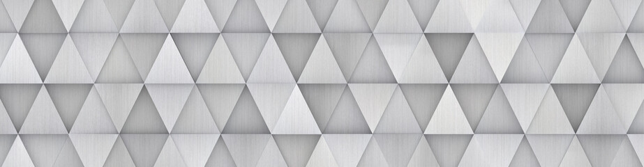 Wide Metal Geometrical Backdrop (site head) 3d