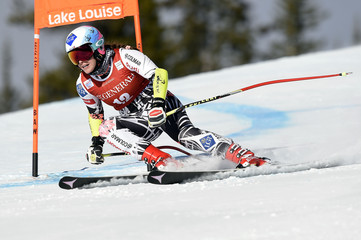 Alpine Skiing: Audi FIS Lake Louise Alpine Ski World Cup - Women's Downhill Training 2