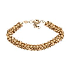 Graceful golden bracelet