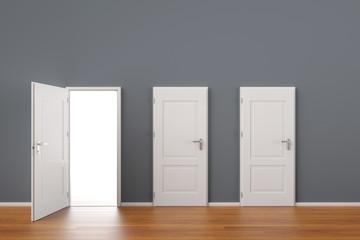 Offene Tür als Konzept für Chance und Zukunft