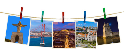 Lisbon Portugal images (my photos) on clothespins
