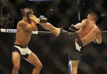MMA: UFC 192-Cariaso vs Pettis