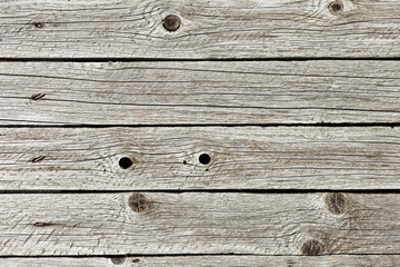 Old weathered unpainted plank background