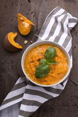 Zuppa di zucca di autunno