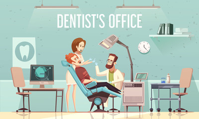 Dentists Office Illustration