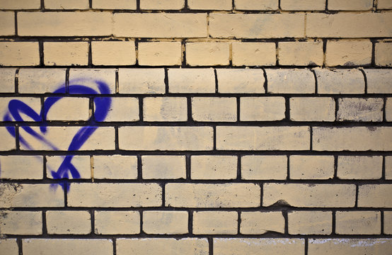 Texture Wall Wallpaper Plastering Ground Background Rough Brick Mason Layer Brown Beige Purple Heart Love Urban Street Graffiti Raster Stone Flat House Line Stroke