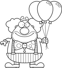 Cartoon Clown Balloons