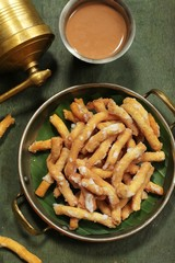 Madhura Seva / Chickpea flour sweet / Diwali Dasara snacks