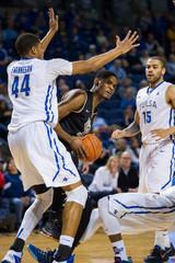 NCAA Basketball: Central Florida at Tulsa