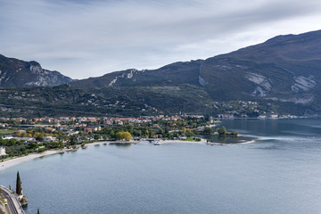 Torbole, Lake Garda, Trentino, Italy. Torbole sul Garda