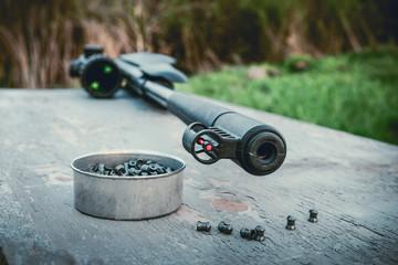pellets and airgun