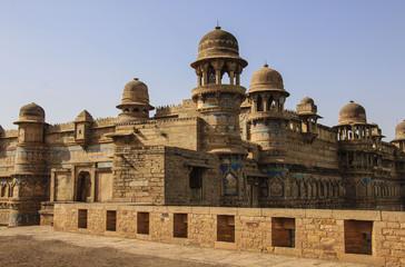 Gwalior fort in Madhya Pradesh, India.