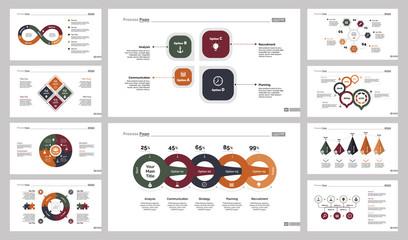 Ten Training Slide Templates Set