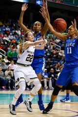 NCAA Womens Basketball: ACC Conference Tournament-Notre Dame vs Duke