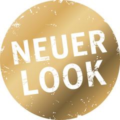 goldener Button neuer Look