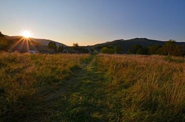 Bieszczady mountains, Polish part of Carpathians