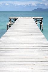 Boardwalk Through Sea