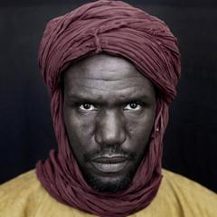 Portrait of Tuareg tribesman. Timbuktu. Mali.