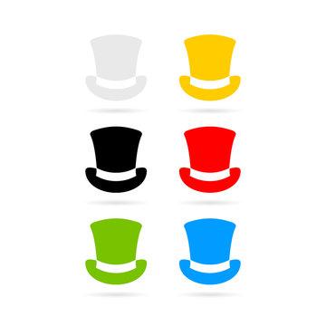 Six color hats