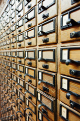 Archive drawers