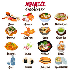 Japanese Food Cuisine