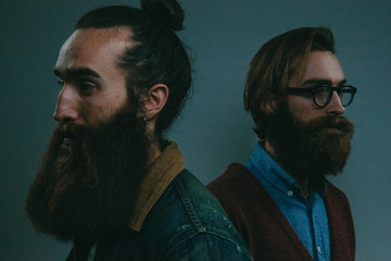 Bearded brothers - different perspectives