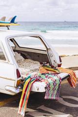 Surfing adventure road trip along the Australian coastline.