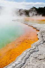 Champagne Geothermal Pool, New Zealand