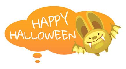 bat and halloween