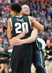 NCAA Basketball: NCAA Tournament-East Regional-Louisville vs Michigan State
