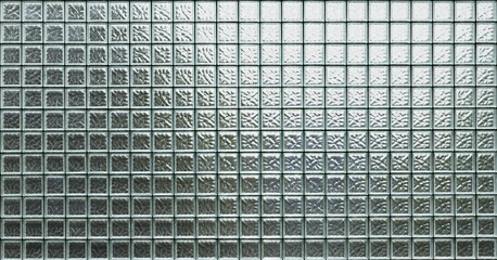 Wall glass block