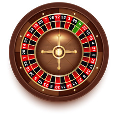Disc Roulette for Casino Games view from above