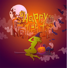 Halloween cards, patterns, decorations.