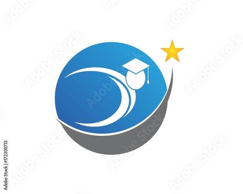 Education People School Logo Design Template