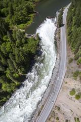 Tumwater Dam Aerial View