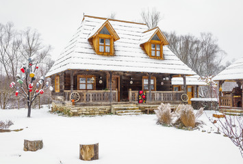 Traditional wooden home