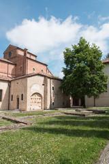 Art suggestions in the ancient village of Sesto al Reghena (Pordenone)