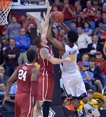NCAA Basketball: Big 12 Conference Tournament-West Virginia vs Oklahoma