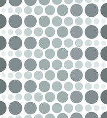 Vintage Halftone Circles Background